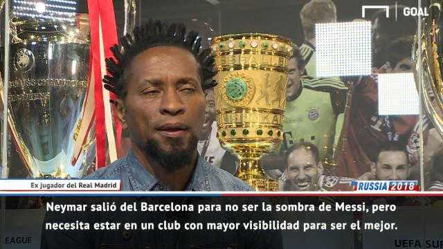 Zé Roberto: Neymar necesita ir al Real Madrid