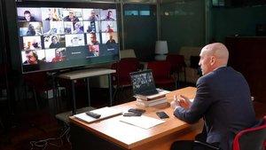 Rubiales anunciará un paquete de ayudas al fútbol español