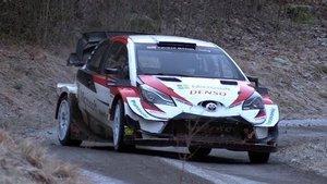 Sebastién Ogier, a los mandos del Toyota Yaris WRC
