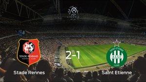 El Stade Rennes gana 2-1 en su estadio frente al AS Saint Etienne