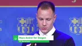 Ter Stegen, entre el agradecimiento a Valverde y las nuevas ideas de Setién
