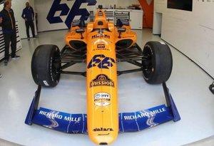El vehículo de Fernando Alonso pasó por dificultades técnicas