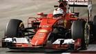 Vettel hizo la pole en Singapur
