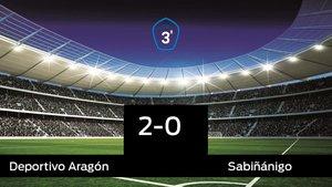 Victoria 2-0 del Aragón frente al Sabiñánigo
