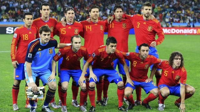 Xavi y Pedro rememoran el triunfo de España ante Alemania