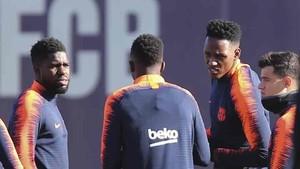 Yerry Mina se enfrenta a Samuel Umtiti este viernes