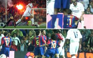 Zidane y Luis Enrique también tuvieron sus refriegas como futbolistas