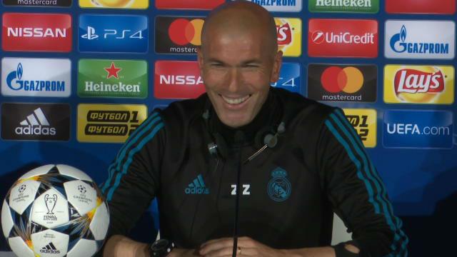 Zidane: Le tengo mucho respeto a Klopp
