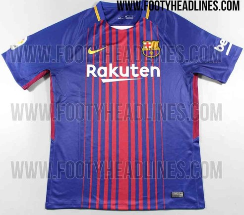 New Kit The Definitive Version Of Barcelona S 2017 2018 Shirt