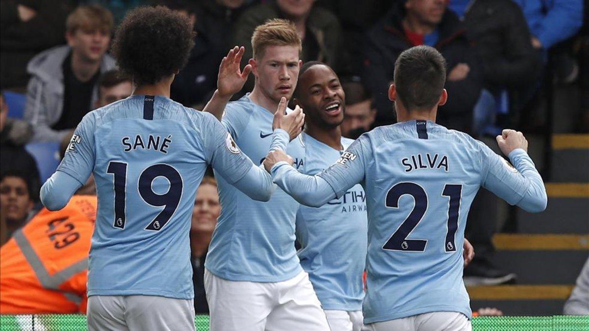 Resumen y goles del Crystal Palace-Manchester City de la Premier