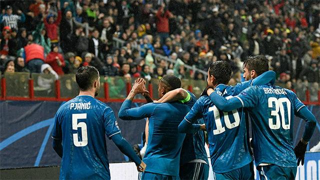 Resumen y goles del Lokomotiv - Juventus (1-2) partido de la jornada 4