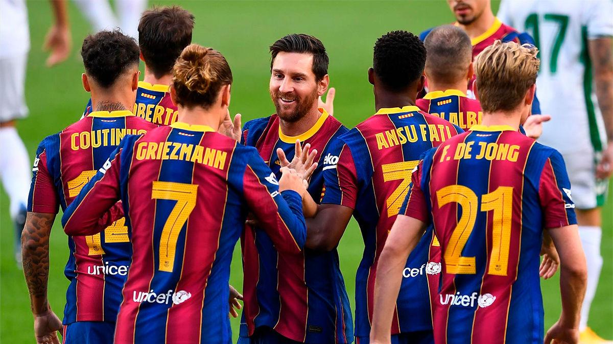 El 1x1 del Barcelona ante el Elche en el Gamper