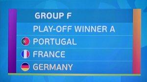 Alemania, Francia y Portugal, en el grupo de la muerte