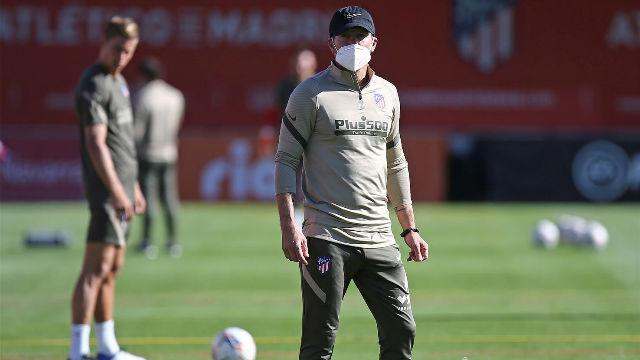 El Atlético ya prepara la visita a Huesca sin Giménez y Vrsaljko