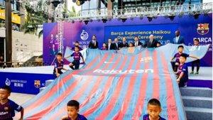 El Barça Experience en Haikou ya está en marcha