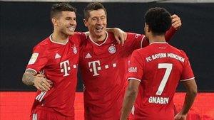 El Bayern, vigente campeón de la Champions League, sigue invicto en la presente edición