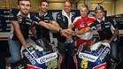 Baz y Barberá, seguirán en Avintia Ducati
