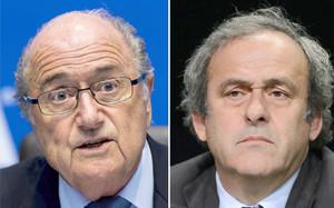 Blatter y Platini han visto reducida su sanción