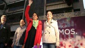 La brutal pelea de Irene Montero y Teresa Rodríguez (Unidas Podemos) que se ha viralizado en Twitter