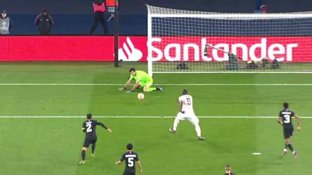 Buffon no blocó el balón y Lukaku lo aprovechó para marcar