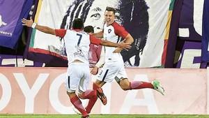 Churín marcó el gol de la victoria