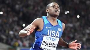 Coleman, como un avión en los 60 metros lisos en pista cubierta