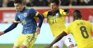 Colombia derrotó a Ecuador con un solitario gol de Uribe
