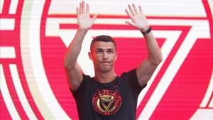 Cristiano Ronaldo se encuentra en China completando el CR7Tour