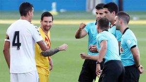 El CSD no reconoce a los árbitros como deportistas profesionales