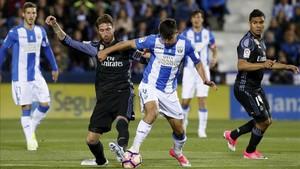 Derbi madrileño entre el Leganés y el Real Madrid en los cuartos de Copa
