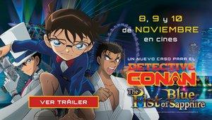 Detective Conan: El puño de zafiro azul llega a los cines el 8 de noviembre