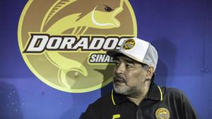 Diego Armando Maradona se quedó muy cerca del título