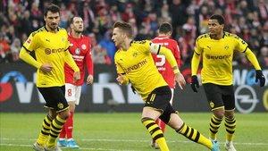 El Dortmund aprovechó las facilidades del Mainz