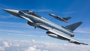 España plantea comprar veinte cazas Eurofighter