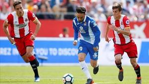 El Espanyol se vengó del Girona y asaltó Montilivi