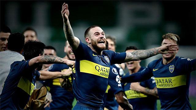 Espectacular vídeo del Súperclásico de la Copa Libertadores
