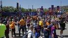 Fan Zone del Barça en la final de Copa del Rey de la temporada 2015/2016