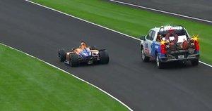 Fue una jornada muy accidentada para el piloto español