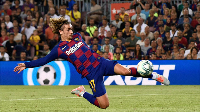 Griezmann se estrenó en el Camp Nou con golazo