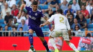 Guardiola le dio un punto al Valladolid en el Bernabéu y colidera el Pichichi