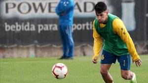 Hernán Pérez, novedad para el Espanyol-Levante