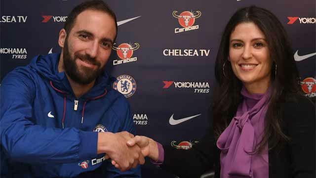 Higuaín ya es del Chelsea