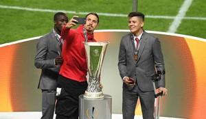 Ibrahimovic, tras conseguir la Europa League