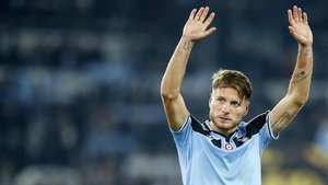 Immobile, delantero de la Lazio en una imagen de archivo
