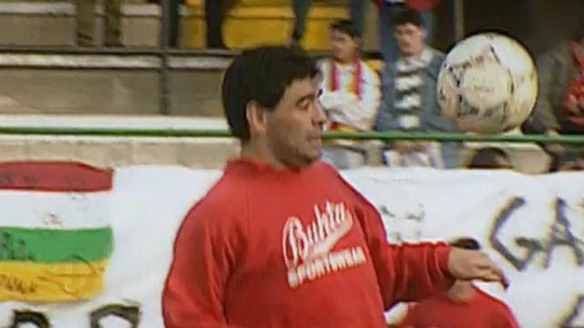 Informe Robinson dedicará un reportaje a la etapa de Maradona en el Sevilla