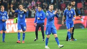 Italia cuajó un buen partido ante Finlandia