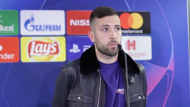 Jordi Alba: Esperamos levantar los máximos títulos posibles