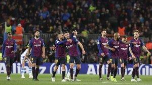 Jordi Alba y Lenglet, los defensas se reivindicaron como goleadores ante la Real