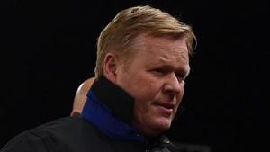 Koeman entrena al Everton