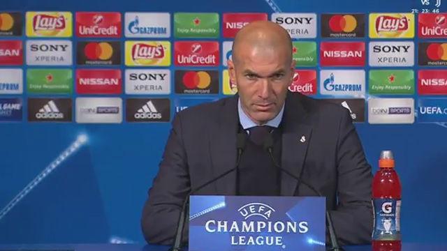 LACHAMPIONS | PSG - Real Madrid (1-2): Zidane: Nos ha salido un partido perfecto